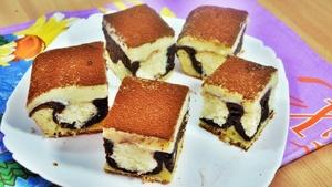 Шоколадно-творожный пирог «У…