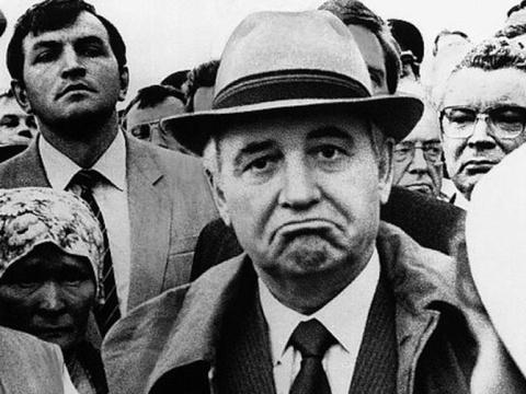 Горбачёв в 1987 году: Крым н…