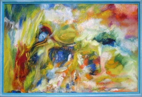 Цветовая композиция к романсу на стихи Пушкина