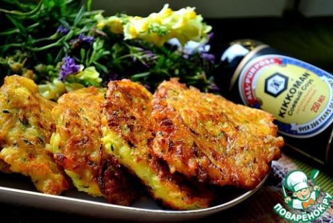 Овощные котлеты с сыром