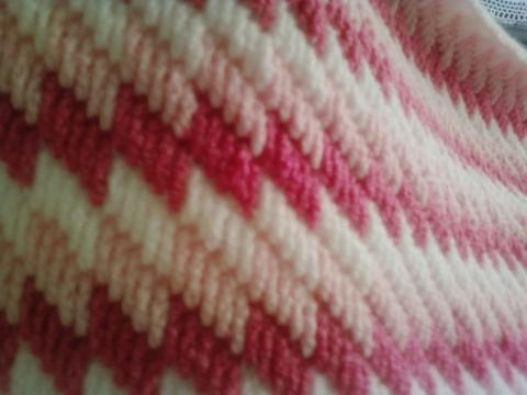 Необычная техника вязания пледов. Видео
