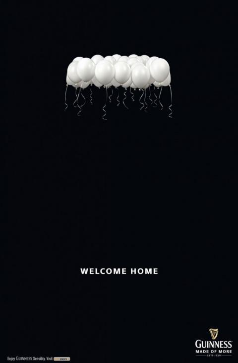 Guinness: добро пожаловать домой!