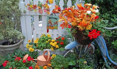 50 интерсных идей по осеннему оформлению сада и дома