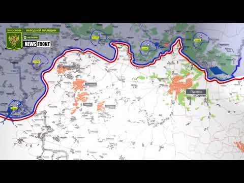 ЛНР: карта обстрелов за 16 августа 2017