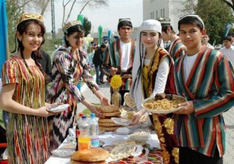 Место геноцида русских - Таджикистан