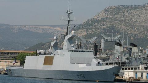 Россия засекла в Черном море фрегат-невидимку ВМС Франции