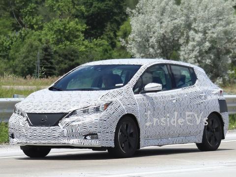 Новый Nissan Leaf получит ре…