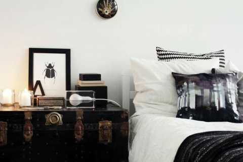 10 креативных прикроватных тумбочек