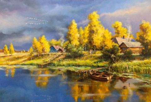 Московский художник Сергей Бессонов