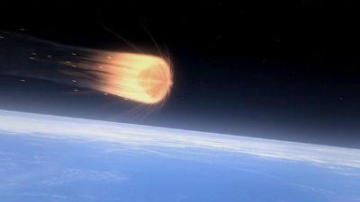 Первый полет межпланетного к…