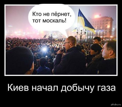 Украина отказалась от любых поставок газа,используя собственную газовую платформу