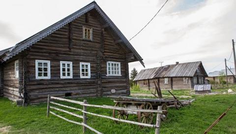 Жители деревни в Подмосковье…