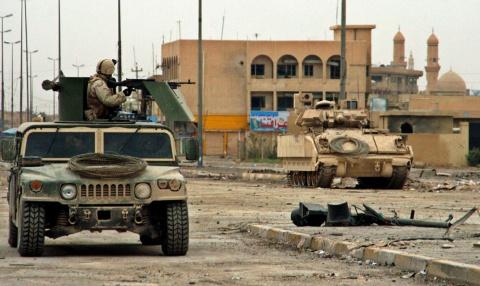 Террористы атаковали иракских полицейских под Мосулом