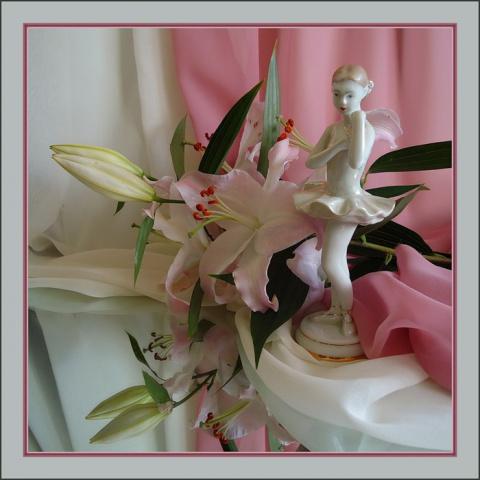 Цветок орхидея-любовь в небесах..