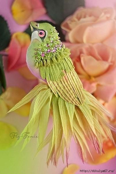 Вот это красотища!!! Птички из фетра своими руками. Нравятся?