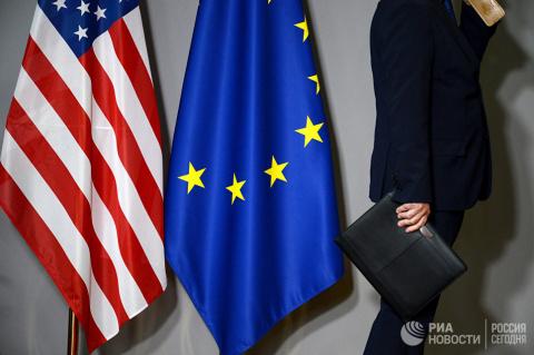 Новые санкции США. Вашингтон хочет жить за счет Брюсселя и Берлина