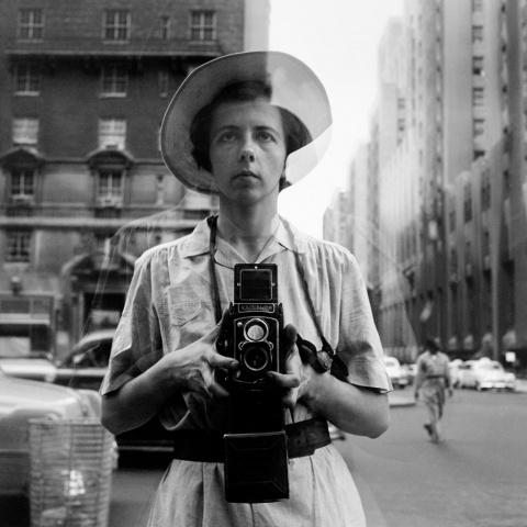 Уличные фотографии Америки 50-х годов