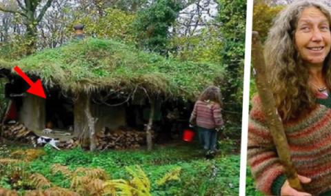 Эта женщина бросила все, и уже 18 лет живет одна в лесу