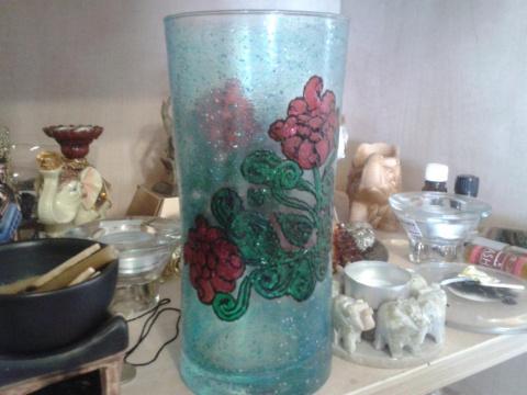 Мои работы по стеклу и керамике.