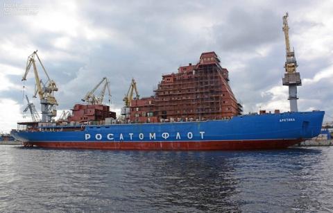 Строительство атомного ледокола «Арктика»
