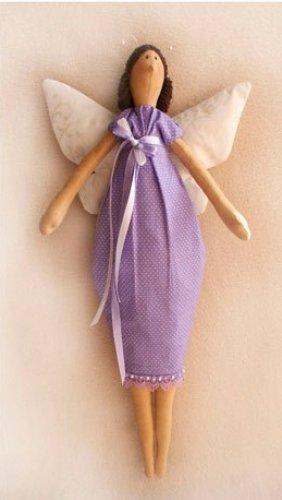 """Набор для изготовления текстильной игрушки 45см """"Butterfly Story"""" арт.009 Ваниль"""