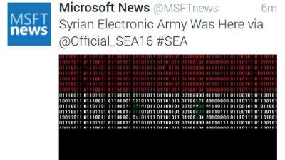 Сирийские хакеры взломали Tw…