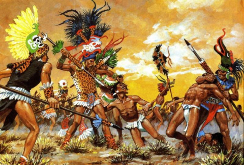 Мексиканские воины-орлы и во…