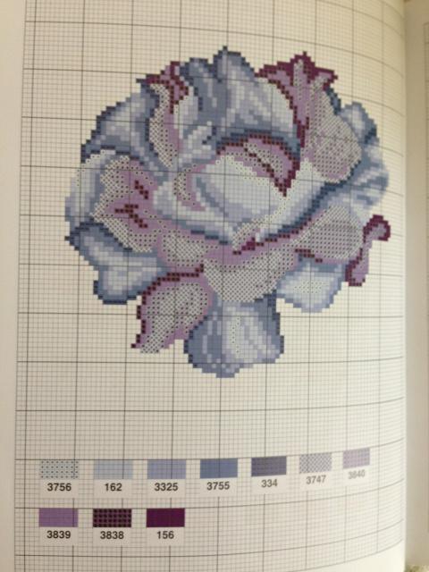Нашла несколько схем роз,может кому-нибудь пригодится.