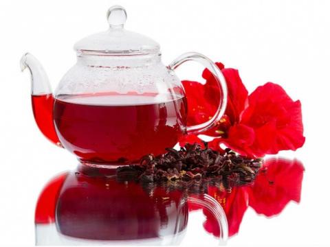Польза и вред чая каркадэ