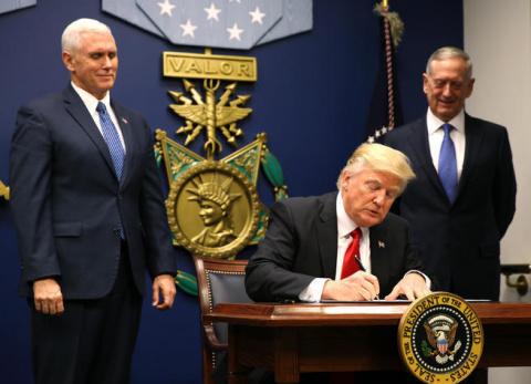 Трамп подписал указ о мобилизации