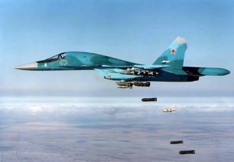 Охота на ИГИЛ глазами пилота Cу-34: Точные удары ВКС РФ сжигают боевиков