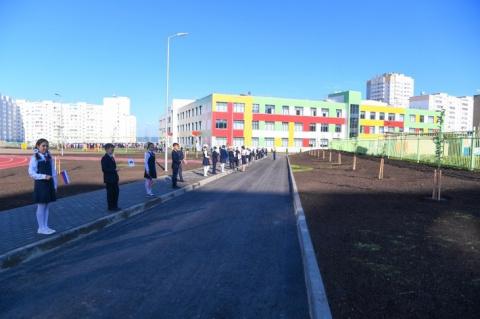 В Набережных Челнах открыта новая школа на 1200 мест