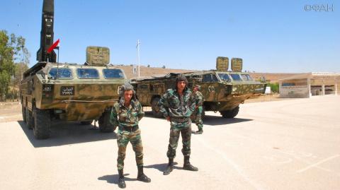 Сирия: артиллеристы САА благ…