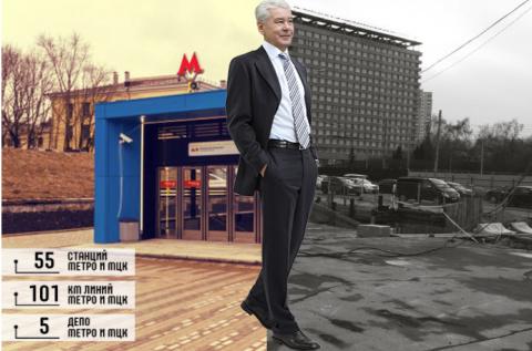 Собянин. Шесть лет в Москве