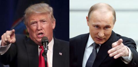 Путин и Трамп впервые встрет…