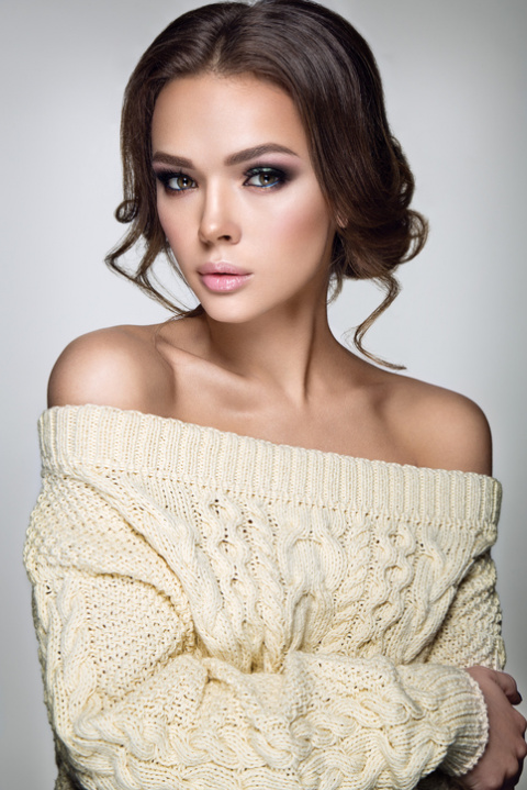 Объемный свитер – тренд зимы 2017-2018