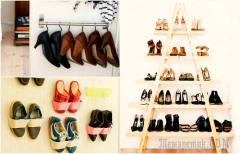 19 практичных идей хранения обуви, которые помогут навести порядок в прихожей и не только