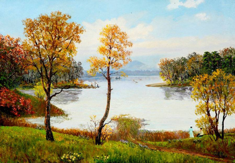 Пейзажи в живописи корейских…