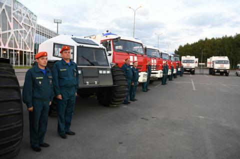 Татарстанским спасателям передана новая спецтехника
