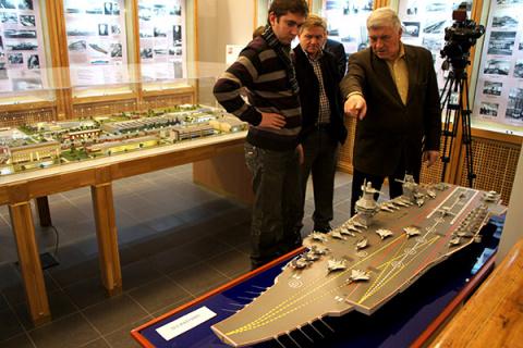 В Санкт-Петербурге представили аванпроект авианосца (аналитическая статья)