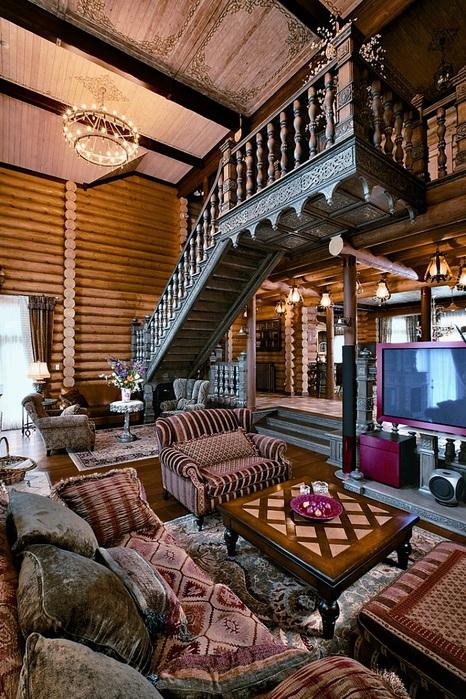 """""""Сибирская сказка"""" — дом, который радует совмещением огромного пространства с уютом и красотой"""