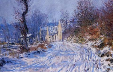 Картины с «морозным настроением»: Очаровательные зимние пейзажи Клода Моне