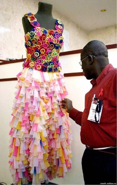 Платье из шариков купить