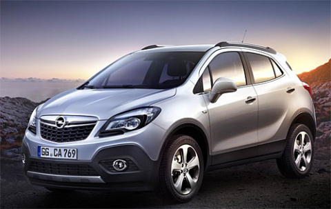Opel Mokka – успех до начала продаж