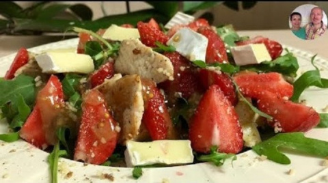 Очень вкусный летний салат «…