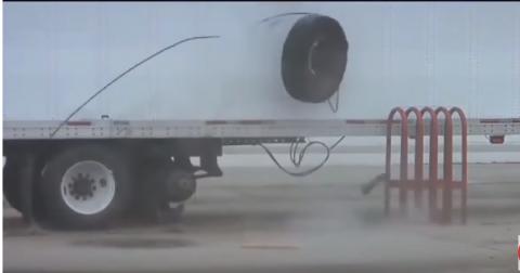 Вот что бывает когда перекачал колесо