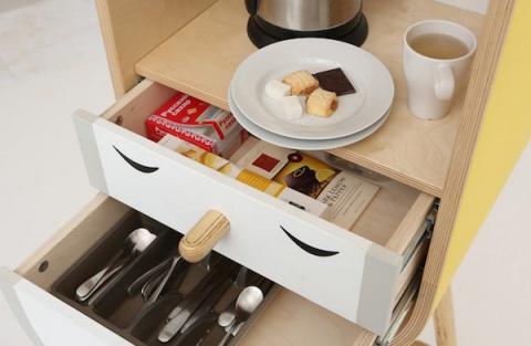 Микро-кухня с большими возможностями