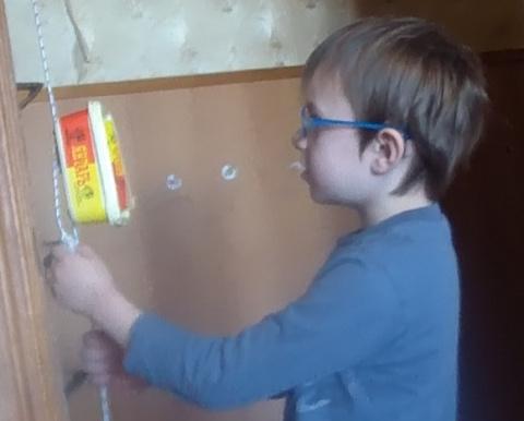 """Делаем с детьми лифт. 2-й пример занятия к курсу """"Делаем с детьми игрушки"""""""