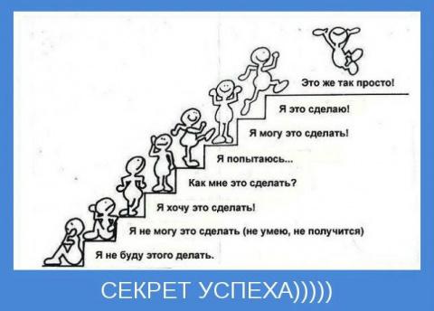 Секрет успеха