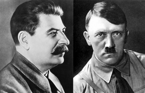 Гитлер о Сталине